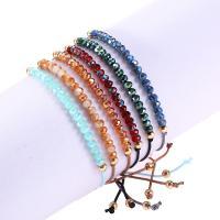 Kristall Armbänder, für Frau, mehrere Farben vorhanden, 160-280mm, 5StrangStrang/Menge, verkauft von Menge