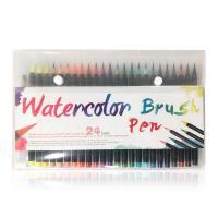 Kunststoff Wasser Farbstift, verschiedene Stile für Wahl, gemischte Farben, 168mm, verkauft von setzen
