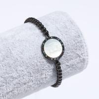 Messing-Armbänder, Messing, für Frau & mit Strass, keine, frei von Nickel, Blei & Kadmium, verkauft von Strang