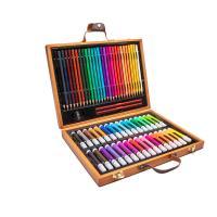 Kunststoff mit Holz, für Kinder, gemischte Farben, 330x250mm, 63PCs/Box, verkauft von Box