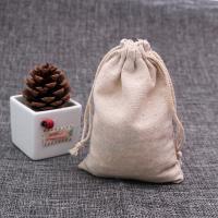 Schmuck Kordelzugbeutel, Baumwolle, plattiert, 90x120mm, 50PCs/Tasche, verkauft von Tasche