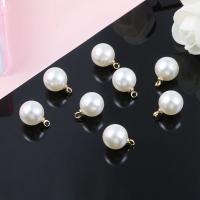 ABS-Kunststoff-Perlen Anhänger Zubehör, plattiert, verschiedene Verpackungs Art für Wahl & DIY & verschiedene Größen vorhanden, keine, verkauft von Tasche