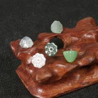Handgewickelte Perlen, Lampwork, Lotos Seedpod, verschiedene Verpackungs Art für Wahl & DIY, keine, 10mm, verkauft von Tasche