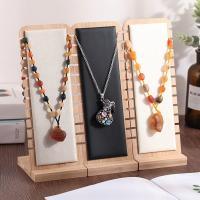 Leder Halsketteständer, Bambus, Rechteck, keine, 100x270mm, verkauft von PC