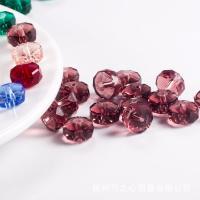 Rondell Kristallperlen, Kristall, plattiert, DIY & verschiedene Größen vorhanden, mehrere Farben vorhanden, verkauft von Tasche