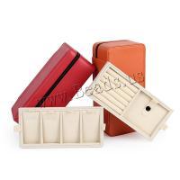 Multifunktionale Schmuck-Box, PU Leder, keine, 233x112x80mm, verkauft von PC