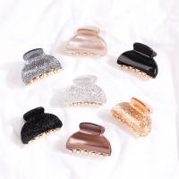 Haarklammer, Acryl, verschiedene Stile für Wahl & für Frau, keine, 50x35mm, verkauft von PC