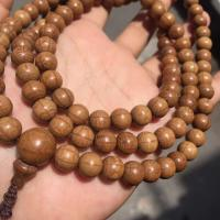 Holz Buddhistische Perlen Armband, braun, frei von Nickel, Blei & Kadmium, 6mmuff0c8mmuff0c10mm, verkauft von Tasche