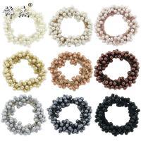 Haar Elastik, Kunststoff Perlen, für Frau, keine, verkauft von PC