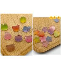 Harz Schmuckperlen, Herz, keine, frei von Nickel, Blei & Kadmium, 8mmuff0c10mmuff0c12mm, 114/Tasche, verkauft von Tasche