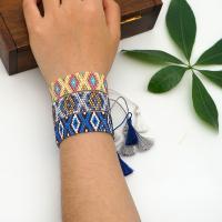 Seedbead Armband, Anti-Müdigkeit, keine, frei von Nickel, Blei & Kadmium, 7u82f1u5bf8, 2SträngeStrang/Tasche, verkauft von Tasche