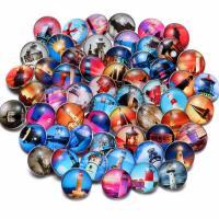 """Schaltfläche """"Chunk"""", Glas, plattiert, verschiedene Stile für Wahl, keine, 18mm, verkauft von PC"""