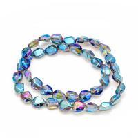 Kristall Armbänder, Einbrennlack, DIY, mehrere Farben vorhanden, 12x16mm, ca. 40PCs/Strang, verkauft per ca. 25 ZollInch Strang