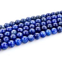 Sodalith Perlen, Sosalith, rund, poliert, DIY & verschiedene Größen vorhanden, blau, Länge:ca. 15.4 ZollInch, 2SträngeStrang/Tasche, verkauft von Tasche