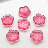 Handgewickelte Perlen, Lampwork, Blume, keine, 14mm, 50PCs/Tasche, verkauft von Tasche