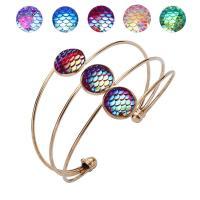 Messing Armband, plattiert, für Frau, keine, frei von Nickel, Blei & Kadmium, 60x120mm, verkauft von Tasche