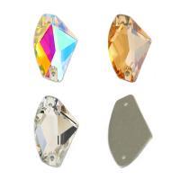Glas Schmuckverbinder, Kristall, DIY & verschiedene Größen vorhanden & facettierte, mehrere Farben vorhanden, verkauft von Tasche