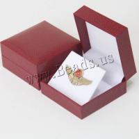 Schmuck Geschenkkarton, Kunststoff, Quadrat, keine, 80x80x42mm, 5PCs/Menge, verkauft von Menge