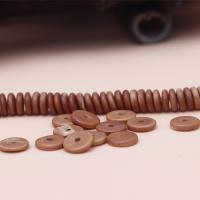 Holzperlen, Holz, poliert, DIY & verschiedene Größen vorhanden, Kaffeefarbe, 20PCs/Tasche, verkauft von Tasche