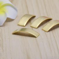 Messing Cabochon Einstellungen, DIY, originale Farbe, frei von Nickel, Blei & Kadmium, 28x9x0.80mm, 500PCs/Tasche, verkauft von Tasche