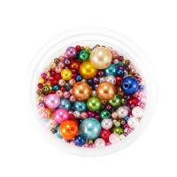 ABS-Kunststoff-Perlen, DIY & gemischt, keine, 3-12mm, ca. 360PCs/Tasche, verkauft von Tasche