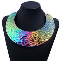 Mode-Halskette, Zinklegierung, plattiert, für Frau, keine, frei von Nickel, Blei & Kadmium, verkauft von PC