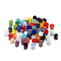 Mode Glasperlen, Lampwork, plattiert, DIY, keine, 4mm, verkauft von Tasche