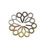 Eisen Kettelstifte, plattiert, DIY & verschiedene Größen vorhanden, keine, frei von Nickel, Blei & Kadmium, 200PCs/Tasche, verkauft von Tasche