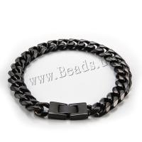 Herren-Armband & Bangle, Titanstahl, verschiedene Größen vorhanden & für den Menschen, metallische Farbe plattiert, verkauft per ca. 8.66 ZollInch Strang