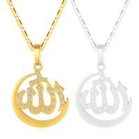 Messing Halskette, plattiert, verschiedene Stile für Wahl & für Frau & mit Strass, keine, frei von Nickel, Blei & Kadmium, 500x33x22mm, verkauft von PC