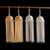 Mode-Fringe-Ohrringe, Zinklegierung, keine, 11cm, verkauft von Paar