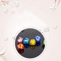 Handgewickelte Perlen, Glas, rund, handgemacht, poliert & DIY, keine, 12mm,, 50PC/Tasche, verkauft von Tasche