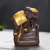 Porcelain Backflow Incense Burner, Porzellan, handgemacht, 120x85x150mm, verkauft von PC
